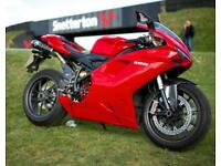 Ducati 1198 not the underpowered 1098