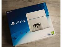 GLACIER WHITE PS4 500GB BOXED 1 CONTROLLER