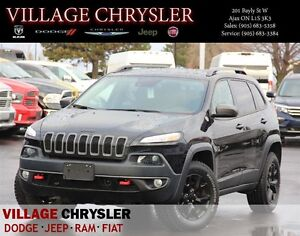2016 Jeep Cherokee Trailhawk V6 SafetyTec,4x4 Technology Group,