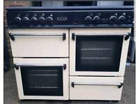 Leisure 100cm Cream Gas Range Cooker - FREE DELIVERY