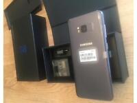 Samsung S8 - Orchid Grey (Unlocked) ** NEW **