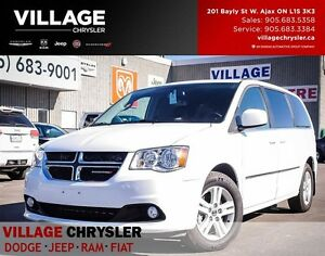 2016 Dodge Grand Caravan Crew Plus, Tow Pkg, Nav,Blindspots, Lea