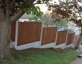 30ft top quality heavy duty fencing deal at 4ft high includes fitting.