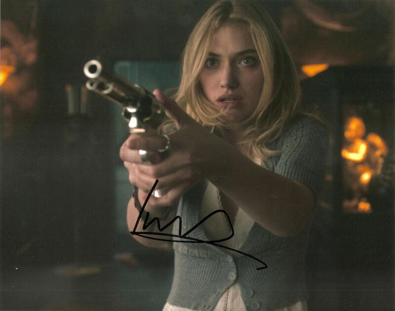 IMOGEN POOTS GENUINE AUTHENTIC SIGNED 10X8 PHOTO AFTAL & UACC [11932] PROOF