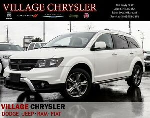 2016 Dodge Journey Crossroad AWD Leather,Nav,7Pass,Pwr/Sunroof,R