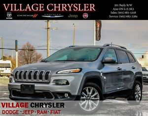 2016 Jeep Cherokee Limited, Leather seats, Nav, Rear-view camera