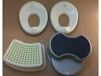 Child's Toilet Seats and Steps x 2
