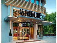 Bar Waiter/ess - 45 Park Lane, Immediate Start, Competitive Salary, Mayfair
