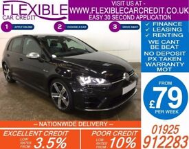 2014 VW GOLF R 2.0 TSI DSG GOOD / BAD CREDIT CAR FINANCE AVAILABLE