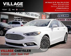 2017 Ford Fusion Titanium,AWD, Sunroof, Nav, Sony Sound....