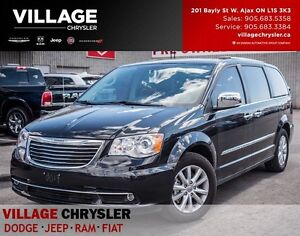 2016 Chrysler Town & Country Limited Platinum, Nav Sunroof, Leat