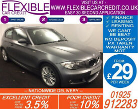2009 BMW 118i 2.0 M-SPORT GOOD / BAD CREDIT CAR FINANCE FROM 29 P/WK