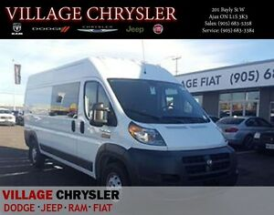 2016 Ram ProMaster 3500 159'' HIGH ROOF, 5.0'' screen, Back up C