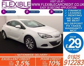 2012 VAUXHALL ASTRA GTC 2.0 CDTI SRI GOOD / BAD CREDIT CAR FINANCE AVAILABLE