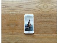 Apple iPhone 6s Gold, 64 gb. vodafone + Apple brown leather cover + box