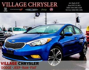 2014 Kia Forte 2.0L SX Nav,Leather,Pwr/Sunroof