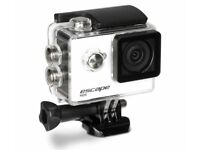 Brand New Kitvision Escape Action Camera - 720p, 5mp, waterproof, bluetooth, accessories