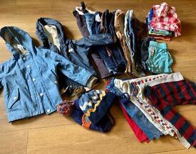 Bundle of clothes. Boy 1.5-2y