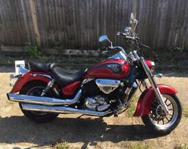 Hyosung ST7 700cc motorcycle