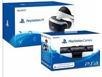 PSVR, PlayStation Camera, PSVR Worlds and demo disc - Boxed