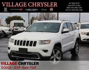 2016 Jeep Grand Cherokee Limited, Navi, Remote start, Rear view