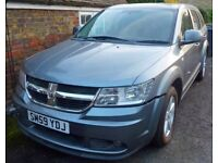 Dodge Journey 2010 SXT CRD 2.0 ltr diesel auto/triptronic 7 seater PSV unfinished project