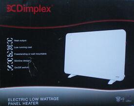 PANEL HEATER - DIMPLEX LOW WATTAGE