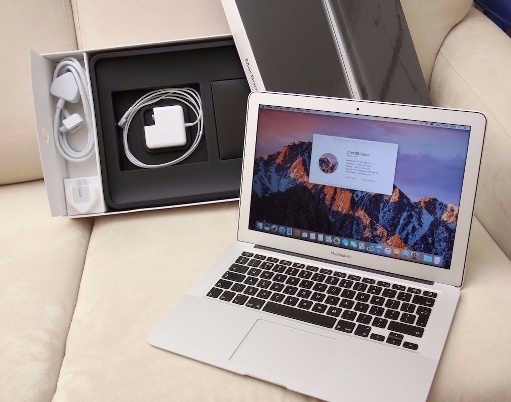 "Macbook AIR 2015 13i58GB256 GBOffice 2016Adobe CSin Putney, LondonGumtree - Macbook AIR 2015 13"" i5 Processor 8GB Ram 256GB SSD 100 cycle count CHECKMEND AND POLICE REPORT PROVIDED OS El Capitan the latest one . Completely Installed with the following software (NEW) Logic Pro X 10.2.1 (NEW) Traktor Scratch Pro 2 (NEW)..."