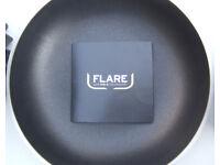 3 PIECE FLARE PAN SET - FRYING PAN,SAUCEPAN AND CASSEROLE