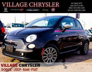 2013 Fiat 500 Lounge GUCCI Leather, Pwr/Sunroof, Heated Front Se