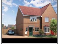 Downsize!!!!!!!........your3 bedroom for my 2 double semi detached new build house