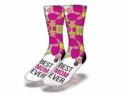 Brandneu Erwachsene / Junior Savvy Sox Best Mom 1 Socken Limited Edition