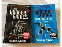 Two The Hunger Games Paperbacks