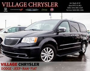 2016 Chrysler Town & Country Limited PLATINUM Dual DVDs,Blind Sp