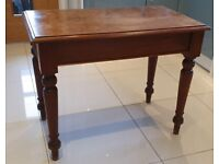 Antique Small Occasional Table with Single Drawer