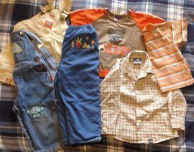Baby boy clothing bundle 12-24 months
