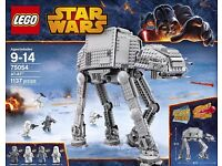 Lego STAR WARS 75054 AT-AT NEW (ATAT) & 8084 Snowtrooper Battle pack - NEW. Both retired