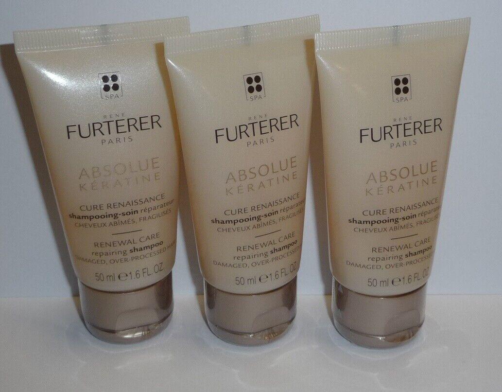 Renè Furterer   Absolue Keratine Repair-Pflegeshampoo Neu  3 x 50ml