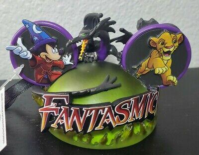 NEW 2020 Disney Fantasmic Mickey Ear Hat Ornament Costa Alavezos