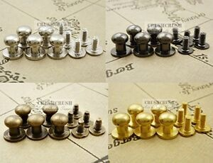 5sets-5-16-034-8mm-Head-Button-Studs-Screwback-Leather-craft-Spot-Spike-Tack-Y008