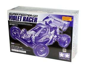 Tamiya 58536 Super Fighter GR Violet Racer Bausatz 1:10 - Neu / Ovp