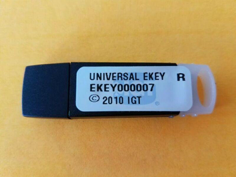IGT CONFIGURATION USB KEY 7 BRAND NEW  UNIVERSAL EKEY EKEY000007 NEVER USED
