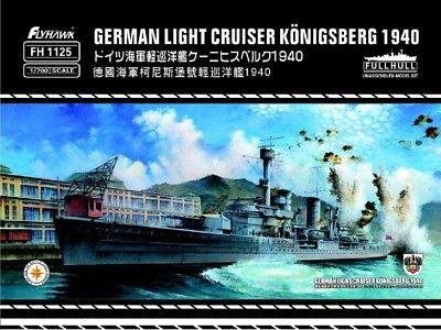 Flyhawk FH1125 1/700 German Light Cruiser Konigsberg (German Cruiser)