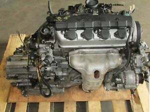 2002 to 05 Honda civic 1.7 engine and transmission 750 complete.
