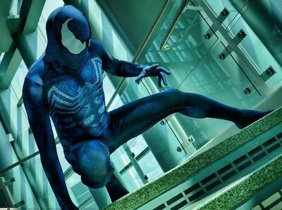 Venom Spiderman Cosplay Costume Spandex Fullbody Zentai Suit Halloween Party Cos - Spiderman Venom Halloween Costume