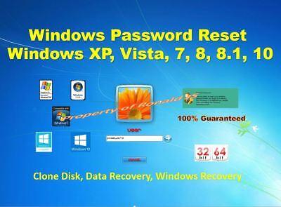 Best Windows Password Reset   Remove Cd   Windows  10  8 1  7  Unlock  Recovery