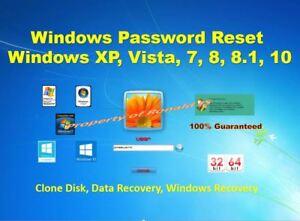 Best Windows Password RESET / Remove CD - Windows, 10. 8.1, 7, Unlock, Recovery
