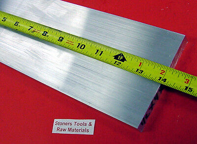 12 X 4 Aluminum 6061 Flat Bar 14 Long Solid T6511 .50 Plate New Mill Stock