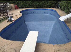 Liquidation toile piscine creusée / inground pool liners