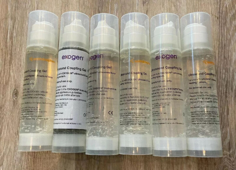 Ultrasound Coupling Gel for Exogen Bone Healing System - one 200 ml bottle